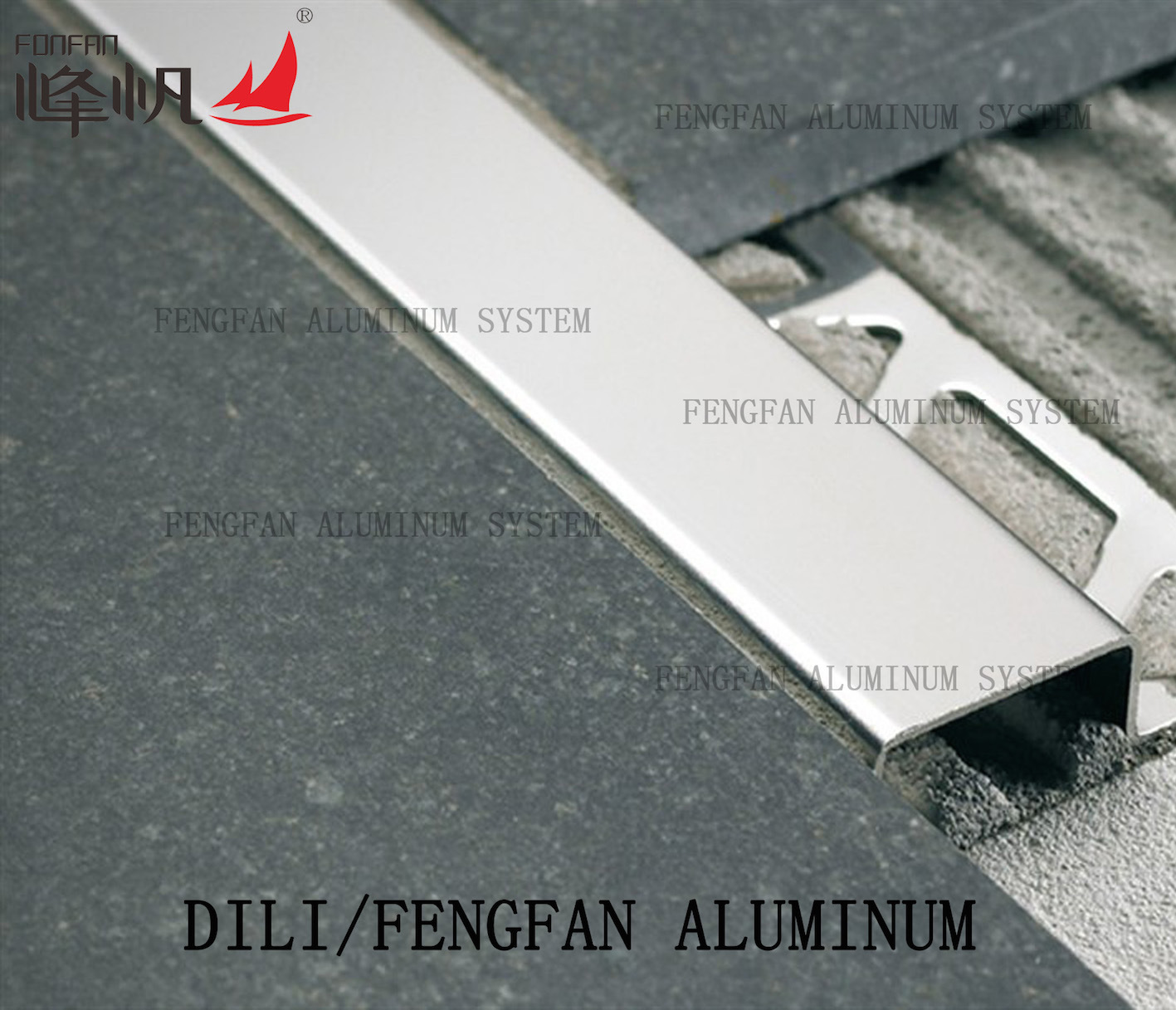 Stainless Steel Square Tile Trim