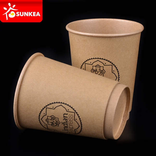 Custom Made Printed Disposable Double Wall Hot Paper Coffee Cup