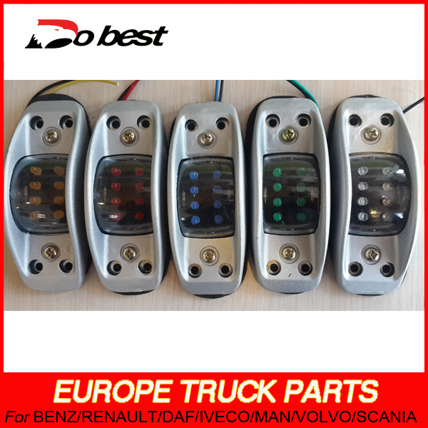 LED Truck Trailer Tail Lamp with Grill