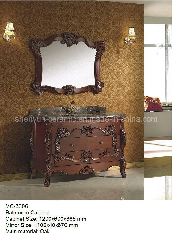 Bathroom Furniture Bathroom Cabinet with Wash Basin (MC-3602)