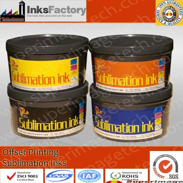 Offset Sublimation Inks for Textile Printing