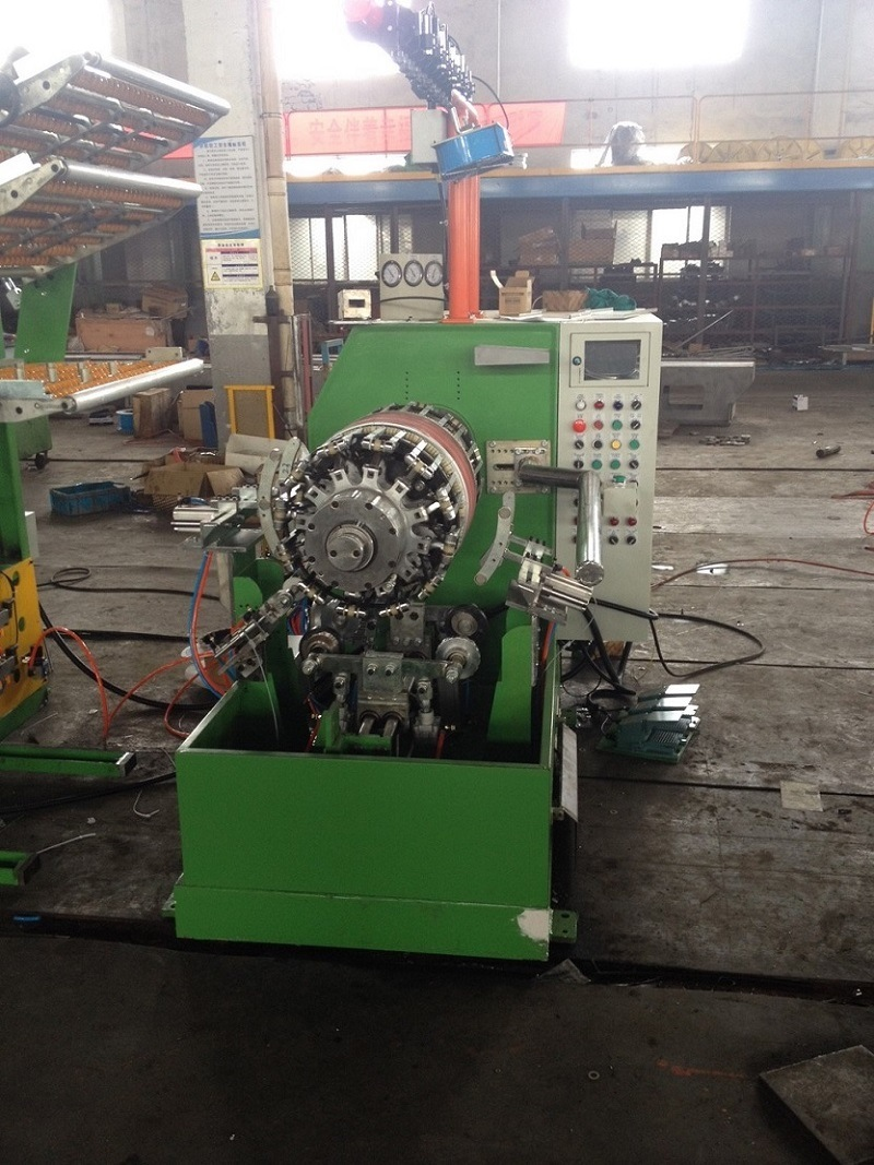M/C-STB-ATV-4p Rubber Tyre Building Machine (0815)