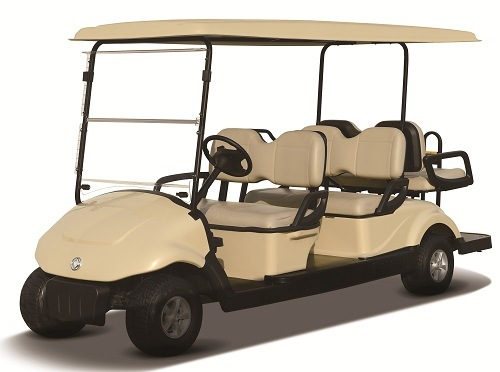 Battery Operated Golf Cart for 6 People, CE Certificate, EQ9042-V6