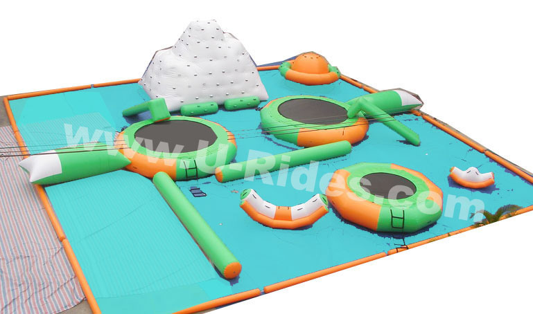 FWPK--001 Floating Inflatable Floating Water Park