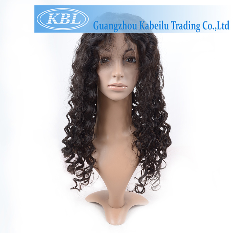 Density 180% Brazilian Deep Hair Lace Wig 14 Inch Front Lace Wig