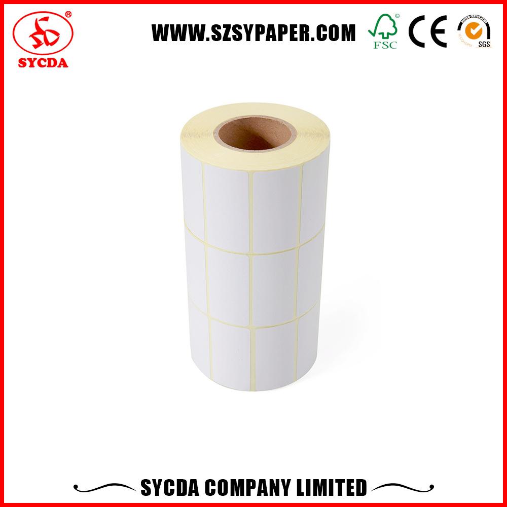 Thermal Adhesive Label Paper/Customized Vinyl Destructive Sticker
