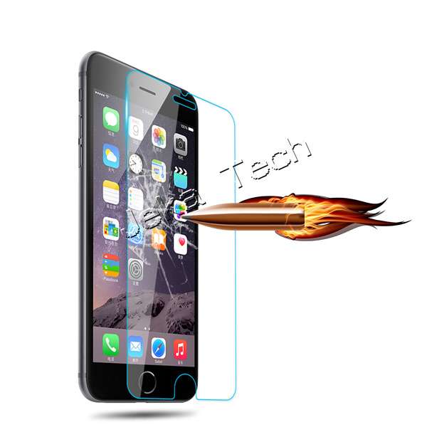 Factory 9h 2.5D 0.33mm Rounded Edged mobile Phone Tempered Glass Screen Protector for iPhone 6/6s
