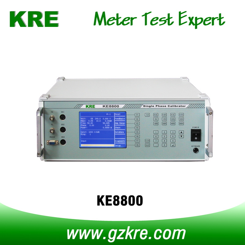 Class 0.05 300V 120A Portable Single Phase Meter Test System