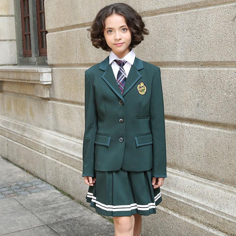 Custom High Quantity Children School Uniforms Blazer