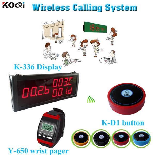 Wireless Call Center Equipment for Restaurant Cafe Bar Hotel