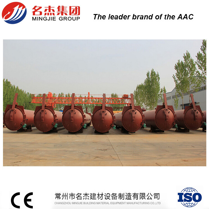 AAC Wall Panels Manual Opening Autoclave Equipment