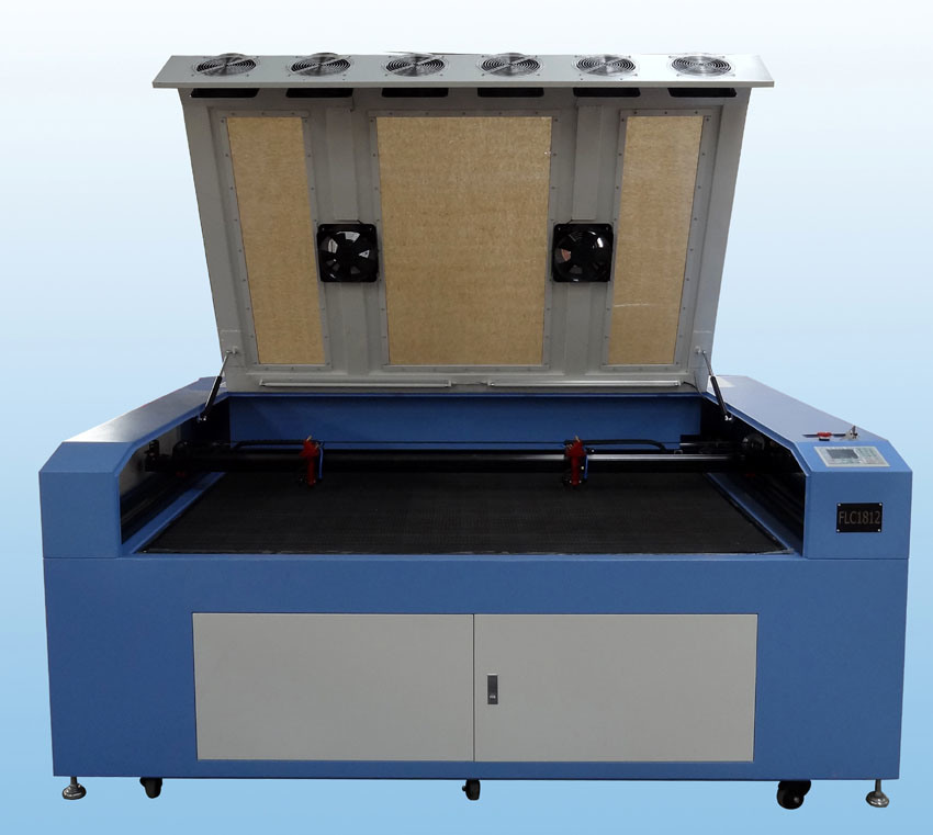 CNC Laser Cutter Machine for Wood Acrylic Cutting Flc1812D
