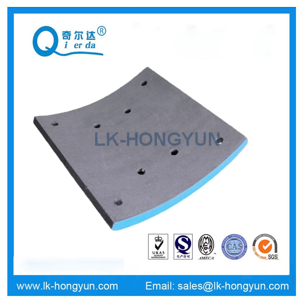 Brake Lining for Mercedes Benz Truck (WVA: 19487, BFMC: MP/32/1)