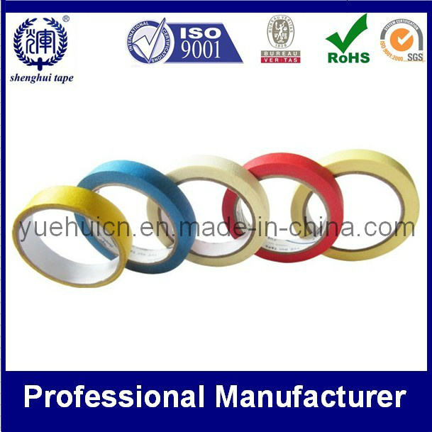 Custom Waterproof Heat Resistant Printed Adhesive Masking Tape