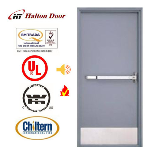 UL Tested Steel Fire Door/Fireproofing Steel Door/Fireproof Door/Top Quality Simple Design