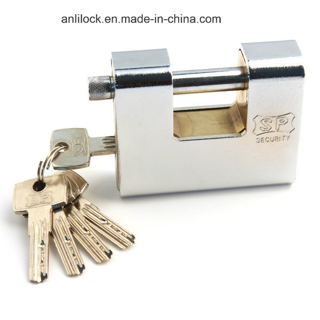 Armoured Lock, Ske Golden Color Inside Lock, Steel Padlock Al-92