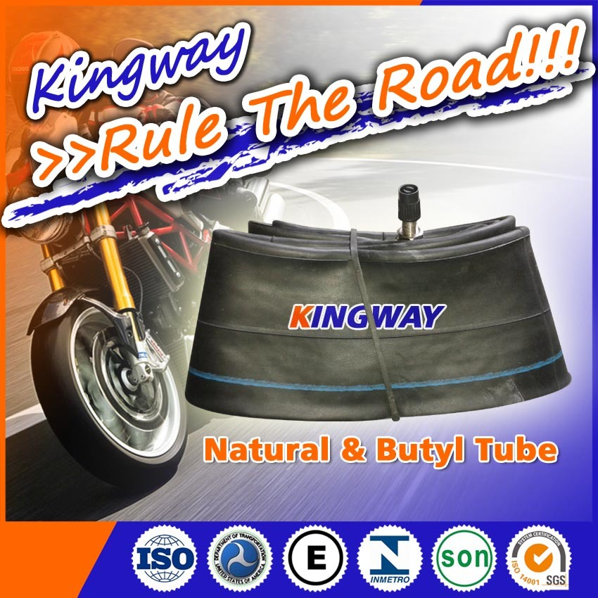China Quality Butyl 2.00-17 Motorcycle Bicycle Tyre Inner Tube