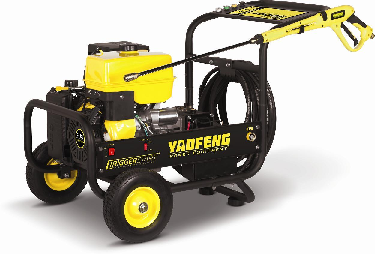 4000psi Trigger Start High Pressure Washer with EPA, Carb, CE, Soncap Certificate (YFPW4000T)