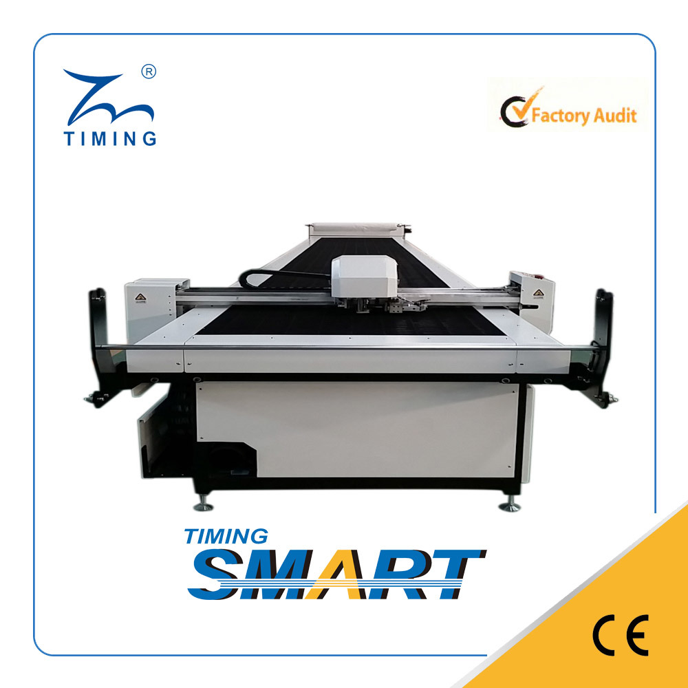Tmcc-S Single Layer Automatic Cloth Cutting Machine