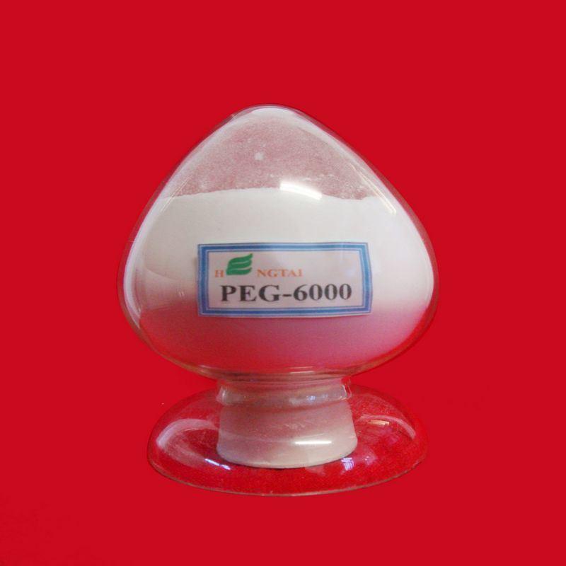 High Purity Polyethylene Glycol 6000
