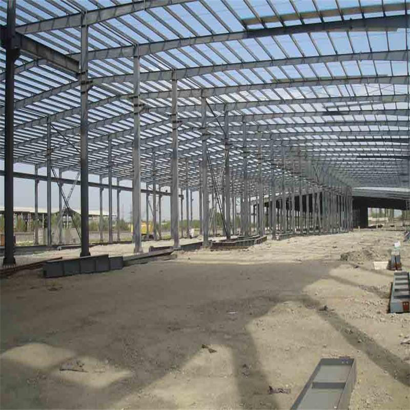 High Quality Light Steel Prefabricated Warehouse with Ce Certification