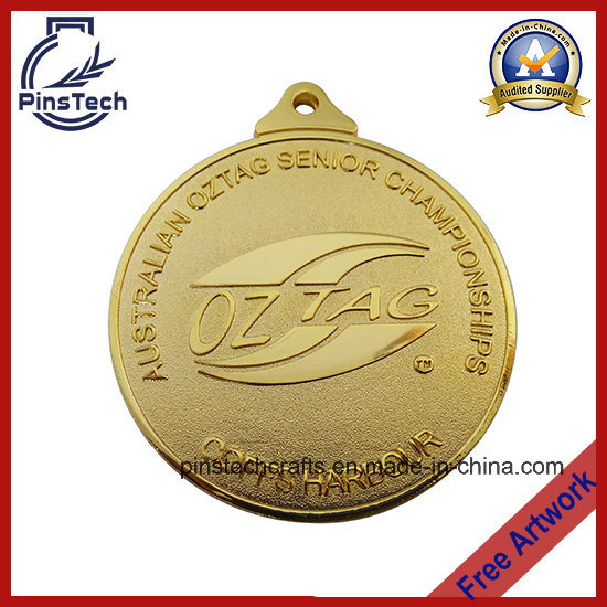 Customized Oztag Championship Medal, Professional Sports Awards Factory