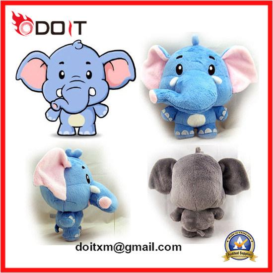 Stuffed Animal Elephant Pink Plush Toy Elephant Stuffed Animal