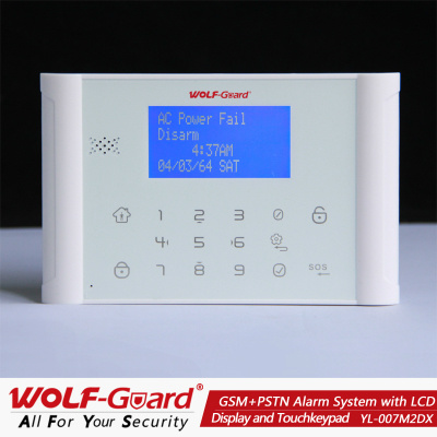 New GSM Alarm Product with LED Display and Touchkeypad