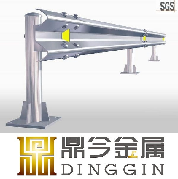 Q235 Galvanized Steel Crash Barrier