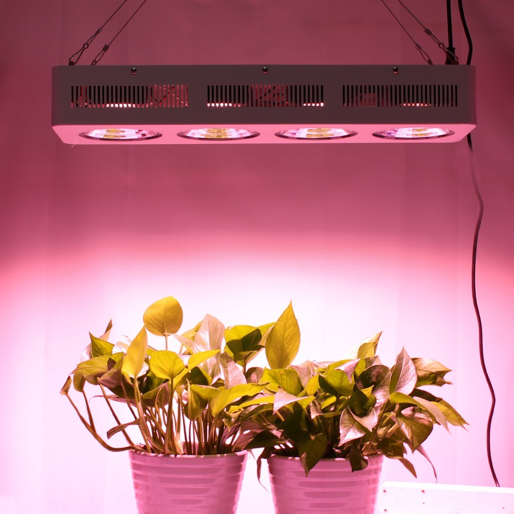 90 Degree Reflector Cup Us/Ca Stock Full Spectrum LED Grow Lights 400W COB with 100% Quality Warranty for All Stages of Plants