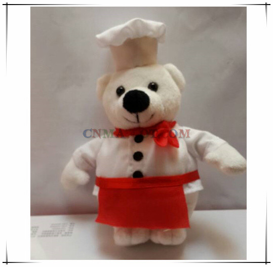 Chef Bear Stuffed Toy Plush Toys Top Quality