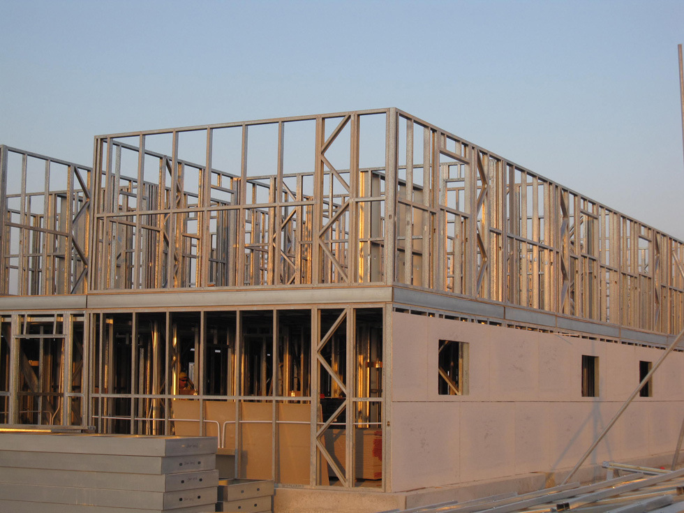 Pre Engineered Steel Structure Warehouse Building