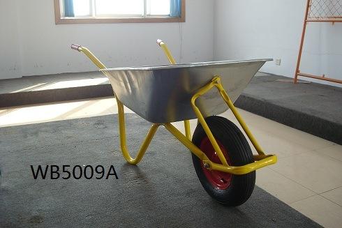 "Wheel Barrow Wb6400 with Solid Wheel 14""X4"
