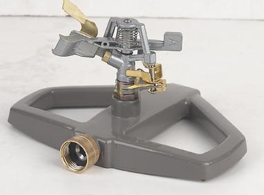 Zinc Impulse Sprinkler with Metal Sled Base (GU516)