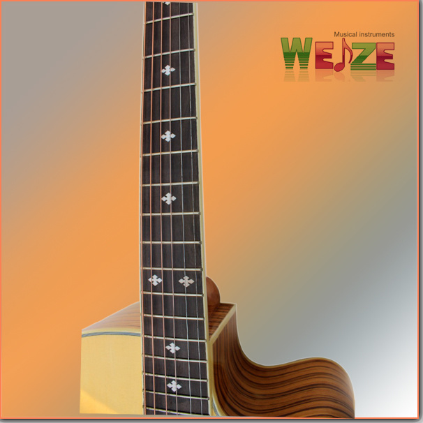 """41""""High Grade Spruce Plywood Acoustic Guitar"""