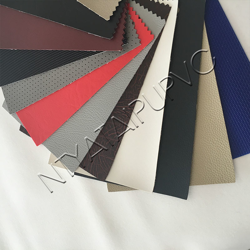 Anti-UV PVC Synthetic Leather Fabric for Auto