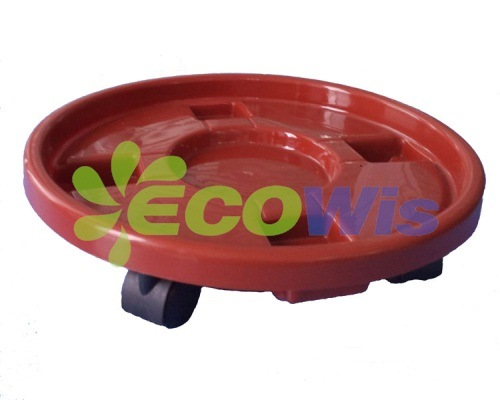 Colourful Plant Flower Pot Stand Hold Mover (HT4222)