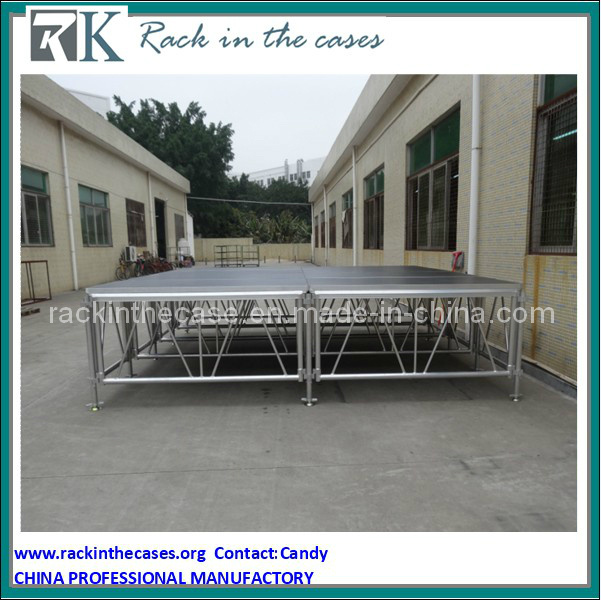 Rk Wholesale Portable Stage Adjustable Stage Equipment for LED Light Performance