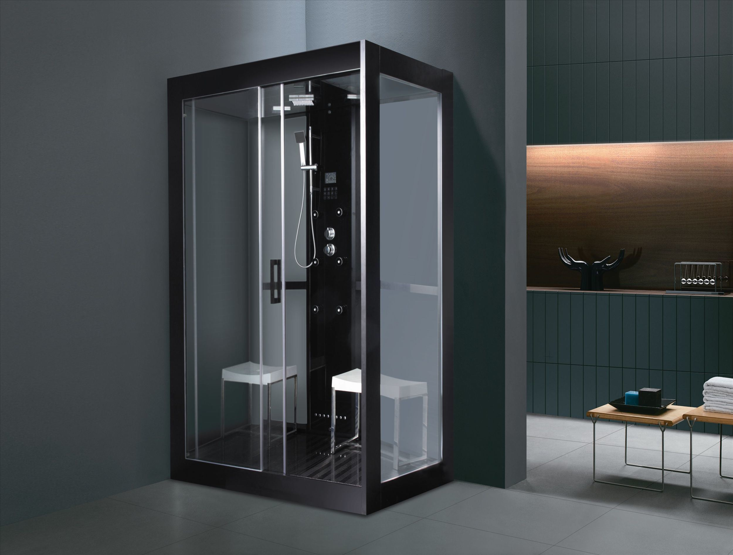 Luxury High Quality Computer Controlled Steam Sauna Shower Cabinet Room (M-8285)