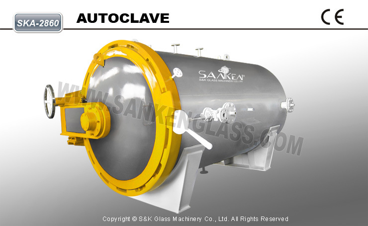 Ska-2860 CE Glass Autoclave for Laminated Glass
