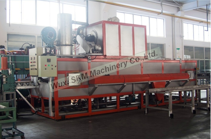 2017 Energy-Saving Aluminium Heating Furnace with Hot Log Shear for Lowest Consumption