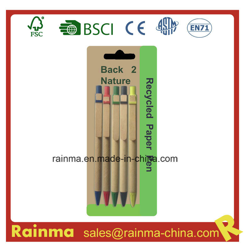 Cheap Paper Ballpoint Pen for Promotional Gift
