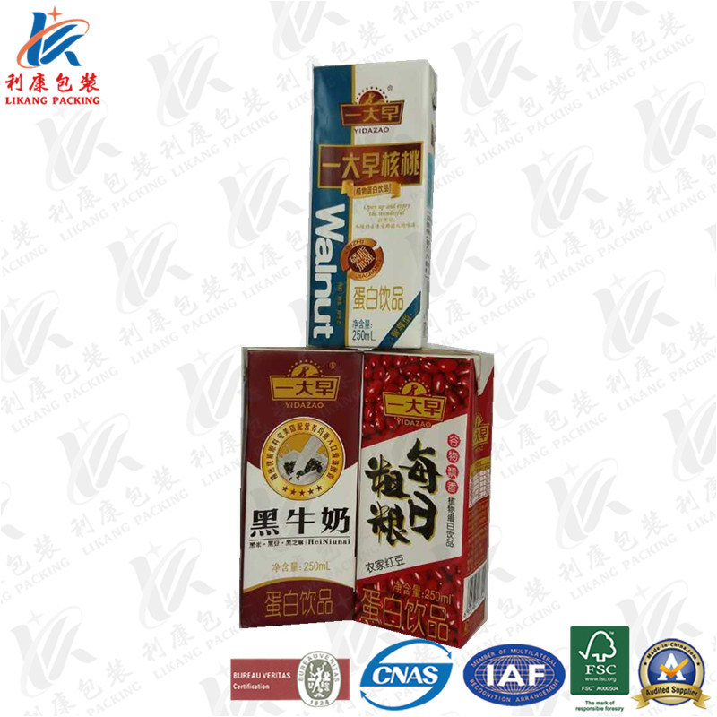 Aseptic Packaging Box for Milk