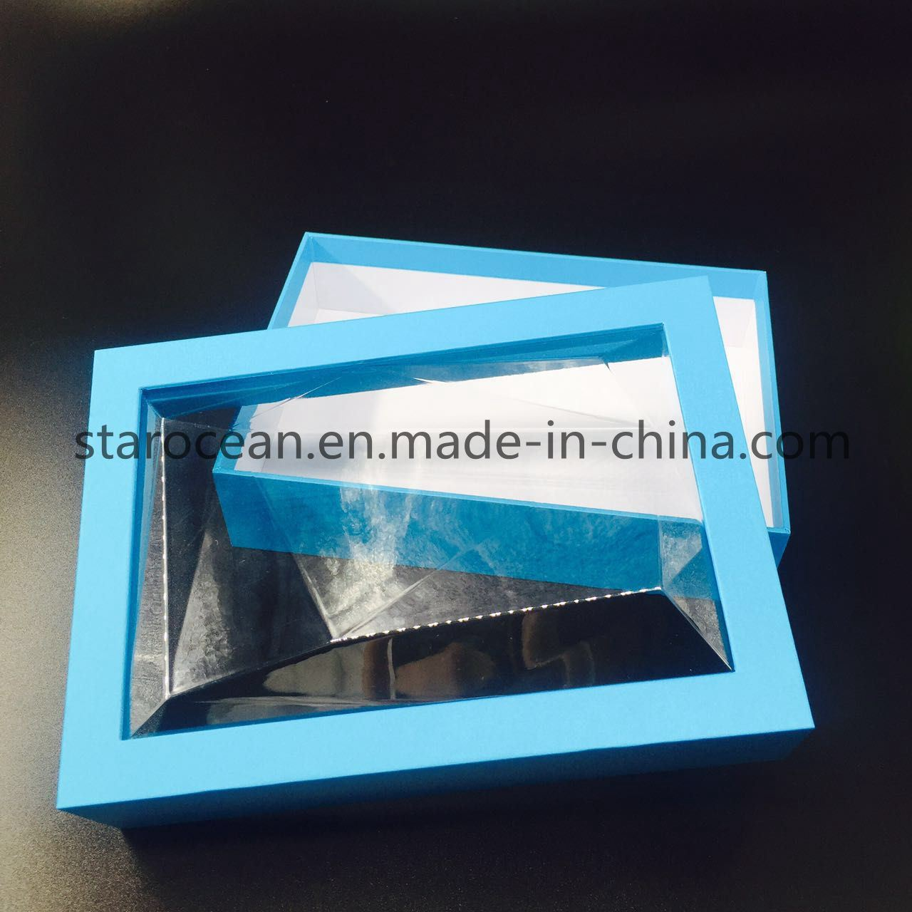 Gift Box Packaging for Cosmetic with Plastic Blister