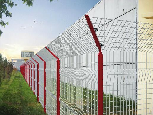 Low Carbon Galvanized Welded Garden Decoration Wire Mesh Fencing