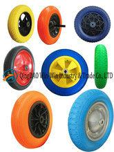 16X4.00-8 Wheel Barrows Wheel PU Foam Wheel
