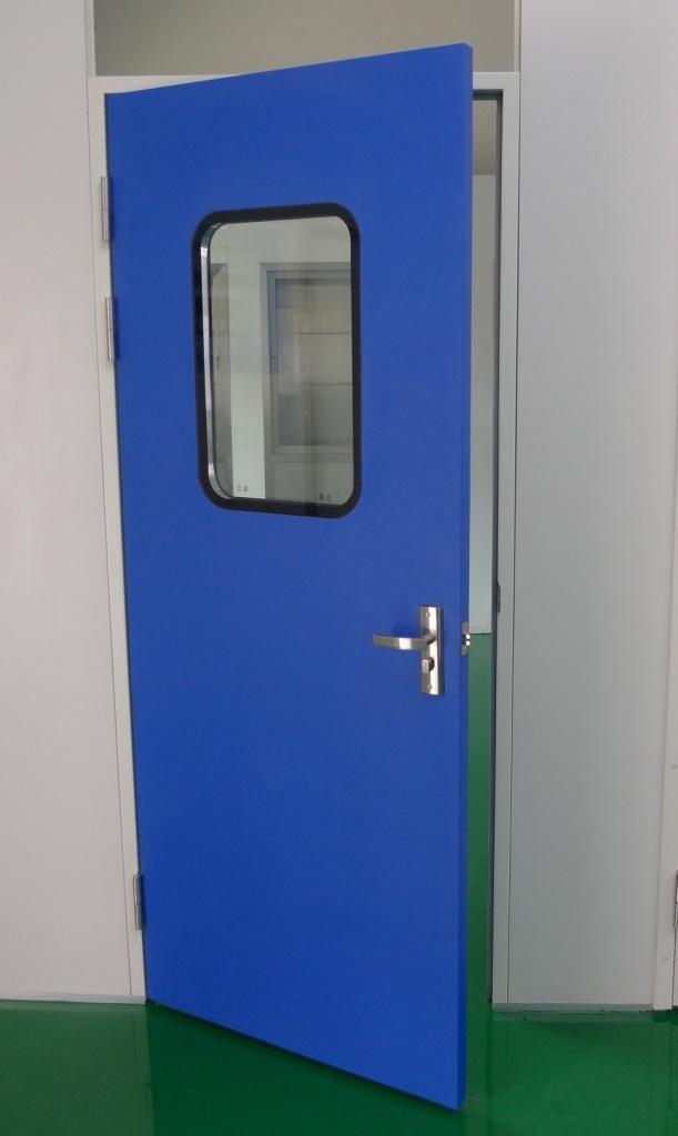 Cleanroom Powder Coated Steel Door
