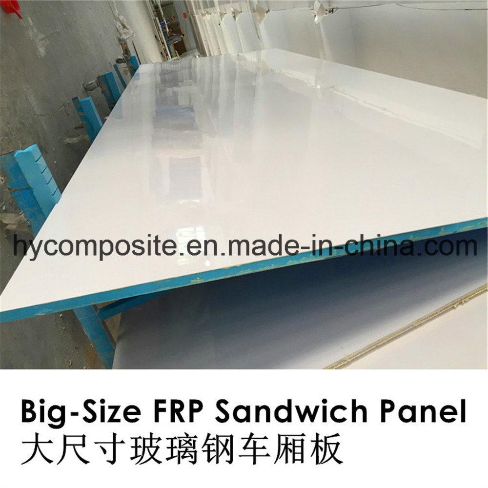 Light Weight Gel Coated FRP XPS Foam Sandwich Panel