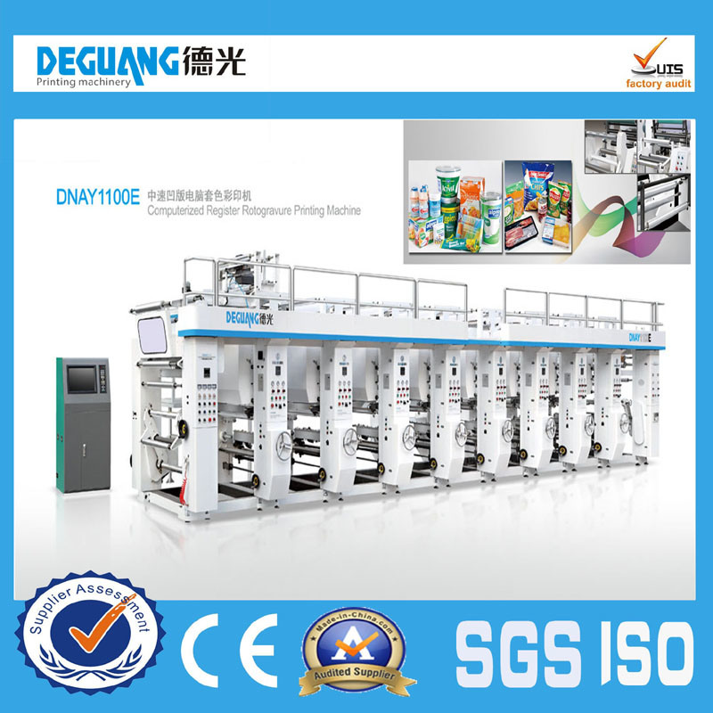 High Speed Plastic Rotogravure Printing Machine in Sale
