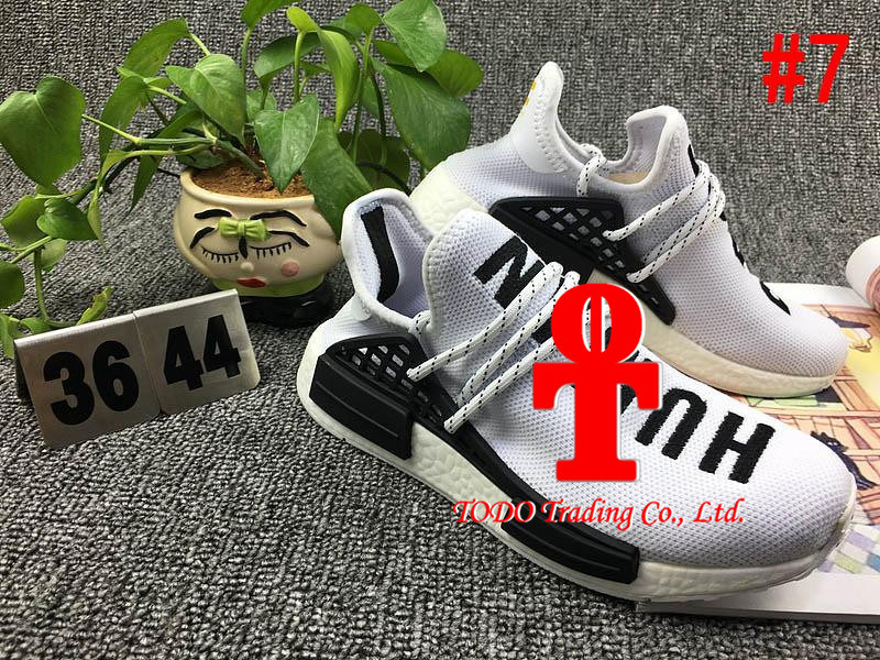 . [with Originals Box] 2017 Cheap Human Race Nmd Pharrell Williams Women Men Fashion Outdoor Training Sneaker Nmd Human Races Running Shoes